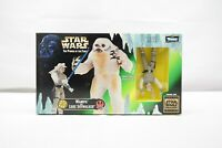 Wampa and Luke Skywalker Star Wars Power of the Force Hasbro 1997 TY
