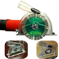 """For Angle Grinder & 3"""" 4"""" 5"""" Saw Blades Cutting Dust Shroud Grinding Cover NEW"""