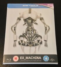 EX MACHINA Blu-Ray SteelBook Zavvi UK Exclusive Ltd Ed 1/2000 New OOP Grail Rare