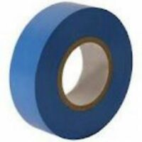 1x BLUE ELECTRICAL PVC INSULATION TAPE ROLL 18 mm x20m PROFESSIONAL 19 Flame