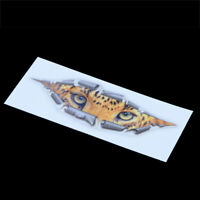 3D Cat Eyes Peeper Peeking Car Sticker Bumper Vinyl Funny Waterproof Decal Decor
