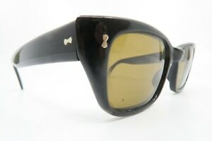 Vintage late 50s early 60s sunglasses original brown glass lenses SMART