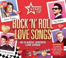 STARS OF ROCK 'N' ROLL LOVE- BUDDY HOLLY,RAY CHARLES,BRIAN HYLAND/+  3 CD NEW+