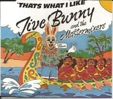 JIVE BUNNY AND THE MASTERMIXERS That's what I like MIX & UNRELEASED CD single