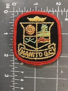 Vintage Manito G.C. Patch Crest Golf Club GC Country Course Spokane Washington