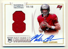 2013 NATIONAL TREASURES MIKE GLENNON RC COLOSSAL JERSEY AUTO BEARS #99/99 1/1!