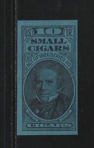 UNITED STATES REVENUE - 10 SMALL CIGARS TAX PAID STAMP (1926) TOBACCO