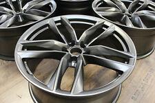 Original Audi RS6 4G Felgen 9,5x21zoll et25 5x112 4G0601025 CG CE CF platinium