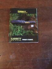 Garrett Pro-Pointer Ii Instruction Operators Manual Book