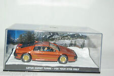 JAMES BOND 007 FOR YOUR EYES ONLY LOTUS ESPRIT TURBO MIB RARE SELTEN