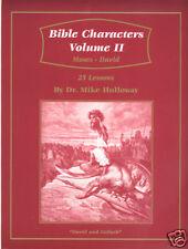 Sunday School Lesson - Bible Characters Vol 2 KJV