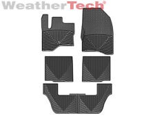 WeatherTech All-Weather Floor Mats - Ford Flex - 2009-2010 - Black