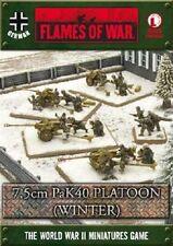 Flames of War - German: 7.5cm PaK 40 Platoon (Winter) GBX73