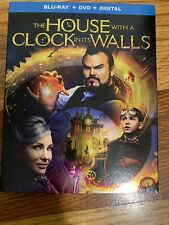 The House With A Clock In It's Walls (Blu-ray + DVD + Digital) Brand New Sealed