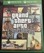 Grand Theft Auto San Andreas Xbox 360 + Xbox One New! Gta Criminal Underworld