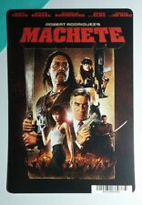 MACHETE TREJO RODRIGUEZ DE NIRO COVER ART MINI POSTER BACKER CARD (NOT a movie)