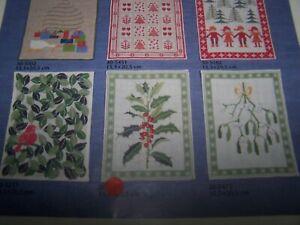 Vintage Haandarbejdets Fremme Danish Counted Cross Stitch Kit  Holly