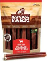 Natural Farm Bully Sticks - 6-Inch Long, 25-Count (20oz / 1.3 lb Per Pack) - to