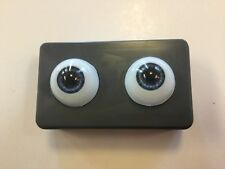 22mm Blue Grey Glastic Realistic Acrylic Doll Eyes