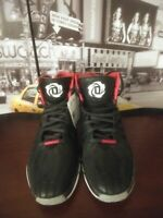 Adidas D Rose 4.5 Men's Basketball Shoes Chicago Derrick Bulls BLACK RED US 13