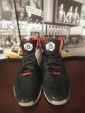 outlet store 4afde c8990 Adidas D Rose 4.5 Men s Basketball Shoes Chicago Derrick Bulls BLACK RED ...