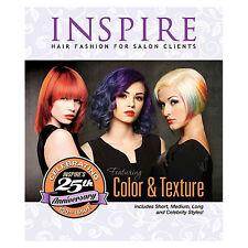 Inspire Hair Fashion Book for Salon Clients Vol 100 Color & Texture +Celebrities