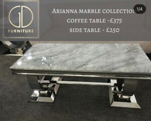 marble coffee table new - Arianna Style .