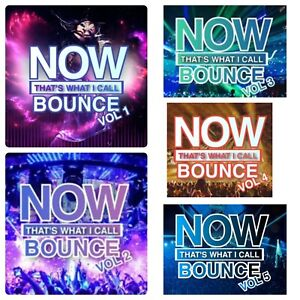 Now That's What I Call BOUNCE - CD Pack - Volumes 1 -5 - Mixed by DJ Nickiee