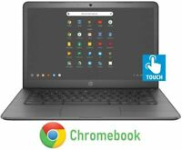 "🔥2021 HP 14"" WLED HD Touchscreen Chromebook Intel Celeron N3350/4GB/32GB eMMC🔥"