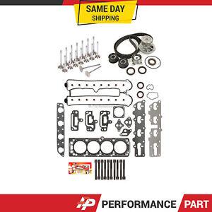 Head Gasket Set Valves Timing Belt Kit Fit 98-02 Daewoo Isuzu Rodeo X22SE