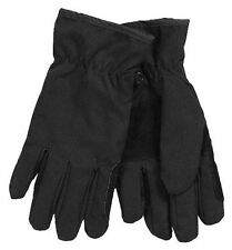 HORSE EQUESTRIAN  & WESTERN JPC WINTER HORSE  RIDING GLOVES BLACK - MED