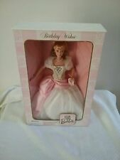 BIRTHDAY WISHES BARBIE 1ST IN SERIES COLLECTORS EDITION 1998 CHRISTMAS GIFT