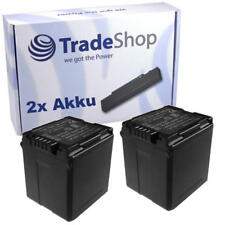 2x AKKU für Panasonic HDC-SD1 HDC-SD5 HDC-SD9 HDC-SD20 HDCSD200 SX5 mit Infochip