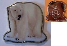 Unusual 2008 Somalia color $1 Animal-shaped Polar Bear