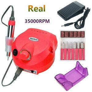 35000 RPM Electric Nail Drill Machine Manicure Nail Drill Bits Set Pedicure