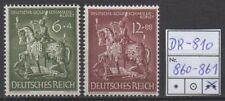Deutsches Reich, Michel Nr. 860 - 861 (Goldschmiedekunst) tadellos postfrisch.