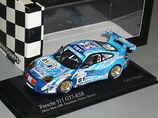 1:43 New Minichamps Porsche 911 GT3RSR 996 Le Mans 24HR 2004 n Turbo GT2 GT4 GT1
