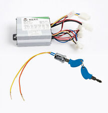 350W 24 V Dc Speed Controller box+KeyLock Switch f scooter e-bike electric motor
