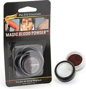 Graftobian Magic Blood Powder Mini _Pro F/X _Halloween,Stage,Theatrical Makeup !