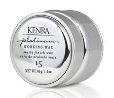 KENRA Platinum Working Wax #15 Matte Finish 1.4 OZ
