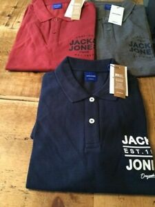 Jack & Jones new Tom polo shirt in slim fit (3 colours) S-XXL