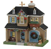 RARE Lemax Foster Residence - Christmas Village Building Lighted NIB VHTF House