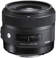 Sigma Prime Camera Lens