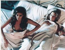 FARRAH FAWCETT RARE 8X10 CHARLIES ANGELS PHOTO #10 WITH RACHEL WELCH IN BED