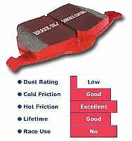 EBC Red Stuff Rear Brake Pads for 06-09 Ford Fusion 2.3L - DP31766C
