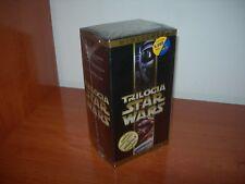TRILOGÍA STAR WARS VHS (EDICIÓN ESPAÑOLA PRECINTADO)