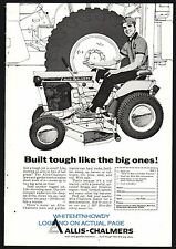 1967 ALLIS CHALMERS Lawn and Garden Tractor AD