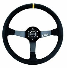 SPARCO RACING R368 R 368 SUEDE STEERING WHEEL 380MM COMPETITION DISHED