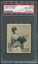 1948 Bowman Baseball #16 Jack Lohrke Rookie PSA 8 (NM-MT)