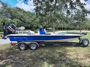 2016 Sterling 220 Center Console flats boat Immaculate condition.  Loaded!